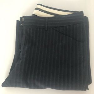 Theory Trouser – Black pinstripe sz 8